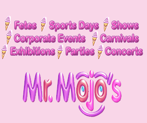 Mr Mojo Ice Cream Vendor Yeppoon Rockhampton and Emu Park on the Capricorn Coast